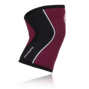 105314_Rehband_Rx Line_Knee Support_5mm_Burgundy_side_highres