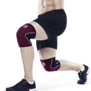 105314_Rehband_Rx line_Knee Support 5mm_Burgundy