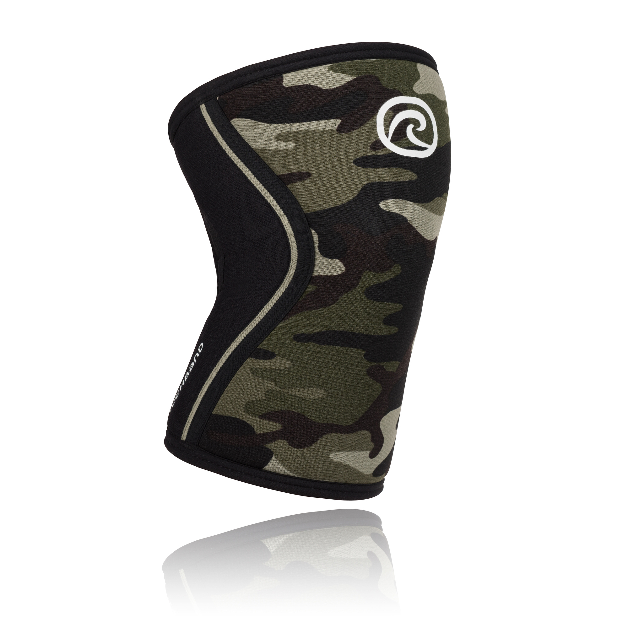 ba7c82361d Rehband 105417 RX Knee Sleeve – Camo, 7mm Neoprene – Jackal's Gym