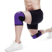 7751_Rehband_Rx line Knee Support 5mm_PurpleBlack