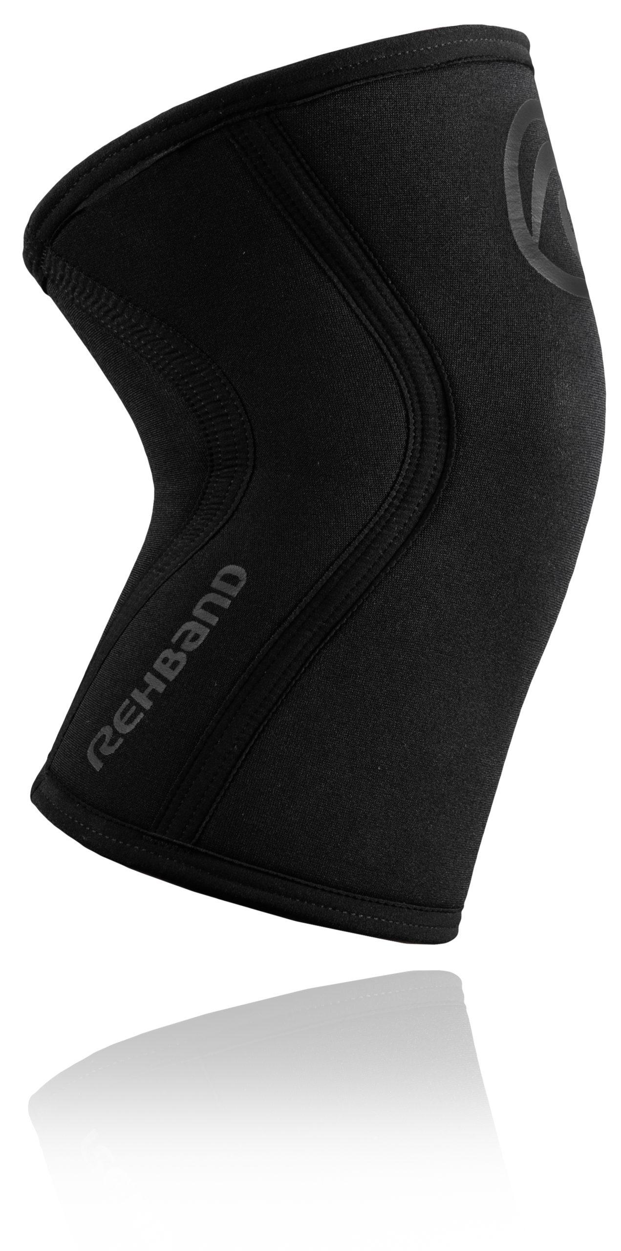 Black 5mm Rehband 105306 Rx Knee Sleeve